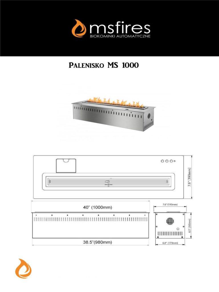 Karta katalogowa MS 1000